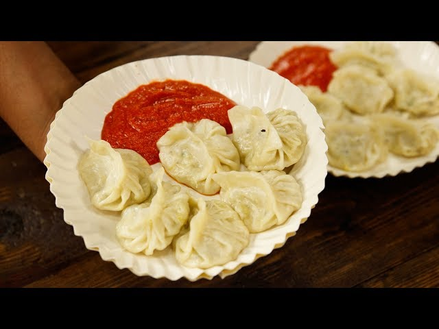 Cheese Momo Recipe - Veg Creamy Soft Momos - CookingShooking