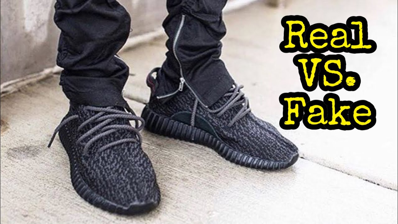 3b53bc29b3a HOW TO LEGIT CHECK    Adidas Yeezy Boost 350 Pirate Black - YouTube