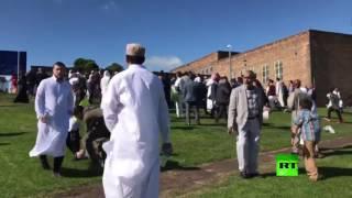 عملية دهس لمحتفلين بعيد الفطر في مدينة نيوكاسل البريطانية