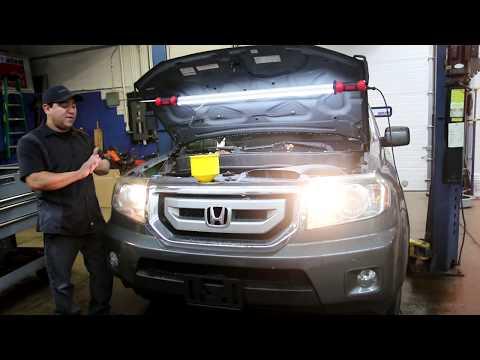 2009 Honda 3.5 L engine noise