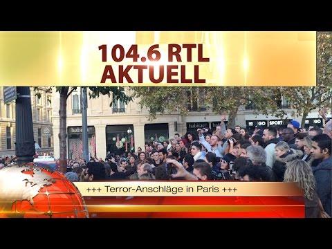 Terror-Anschläge in Paris - Bürger trauern am Platz der Republik
