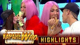 Ion and Jackque serve ice scramble and ice candy for Vice Ganda | It's Showtime KapareWho