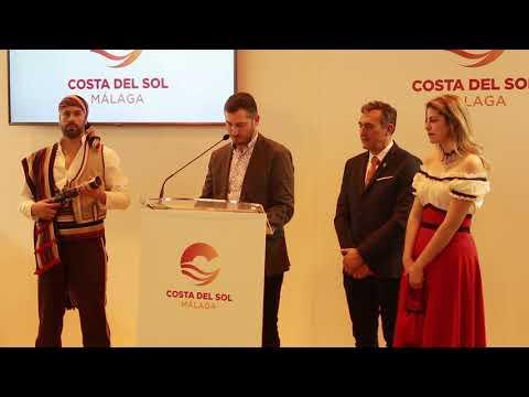 Presentación de Algarrobo en Fitur 2019. Habla el alcalde, Alberto Pérez