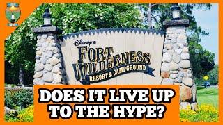 Disney Fort Wilderness Campġround | THE WORLDS NICEST CAMPGROUND | FULL TOUR