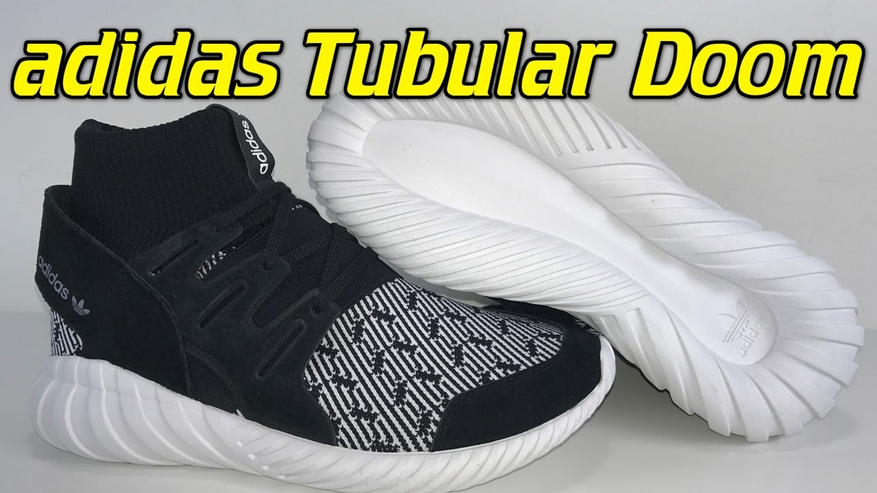 82257dfd6e97b7 Adidas Tubular Doom - Review + On Feet - YouTube