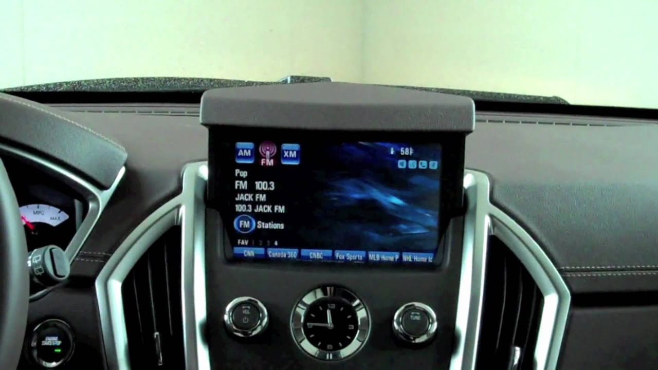 how to change the clock on your cadillac srx with navigation youtube rh youtube com 2007 Cadillac SRX Interior 2007 cadillac srx owners manual pdf