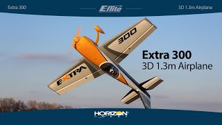 Vidéo: Extra 300 3D 1.3m BNF Basic AS3X and SAFE Select