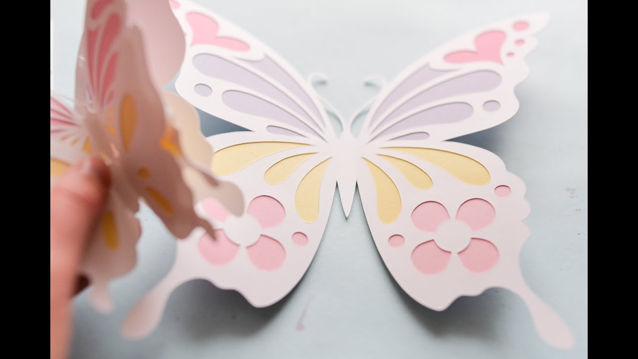 How To Make Paper Butterfly Butterflies Step By Step