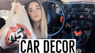 decorate my car with me + car haul