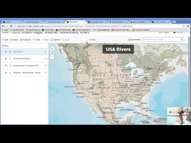 Creating and Delivering Presentations in ArcGIS Online