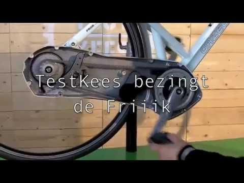 De Fietsersbond Testkees Over De Gazelle Friiik Youtube
