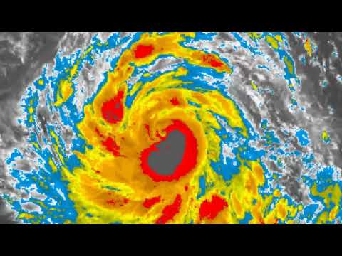 Typhoon (30W) Kong Rey expected to deepen further.  October 1st JST 14:52hrs
