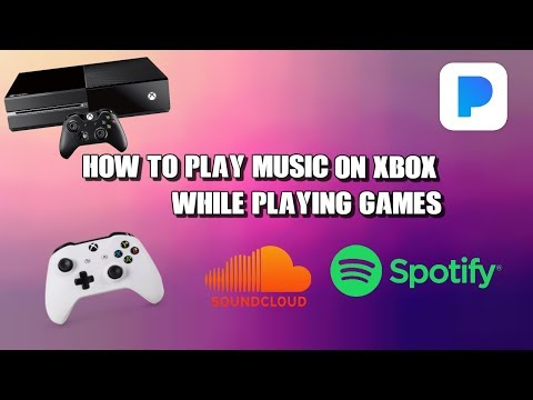 How to play music on xbox while playing games ! (fast and easy) NEW 2018 ( FREE ) Back ground music