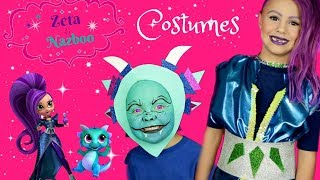 Shimmer and Shine How To Zeta and Nazboo Costume