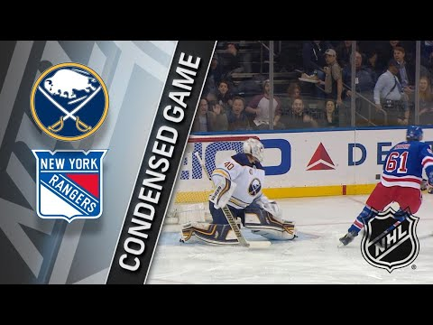 01/18/18 Condensed Game: Sabres @ Rangers