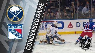 011818 Condensed Game Sabres  Rangers