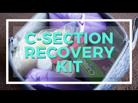 C-Section Recovery Kit // What You'll Need For Postpartum // Momma Alia