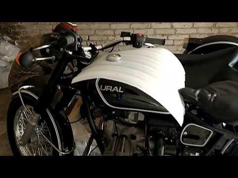 Рождение мотоцикла Урал Ретро