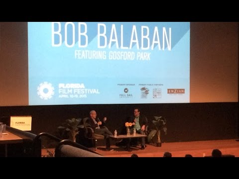 Orlando LIVE - Florida Film Festival 2015 - Bob Balaban Q&A