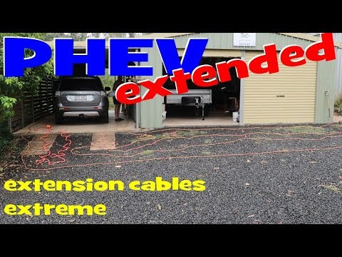 EP230 - Charging the PHEV with extension cables? What to expect...