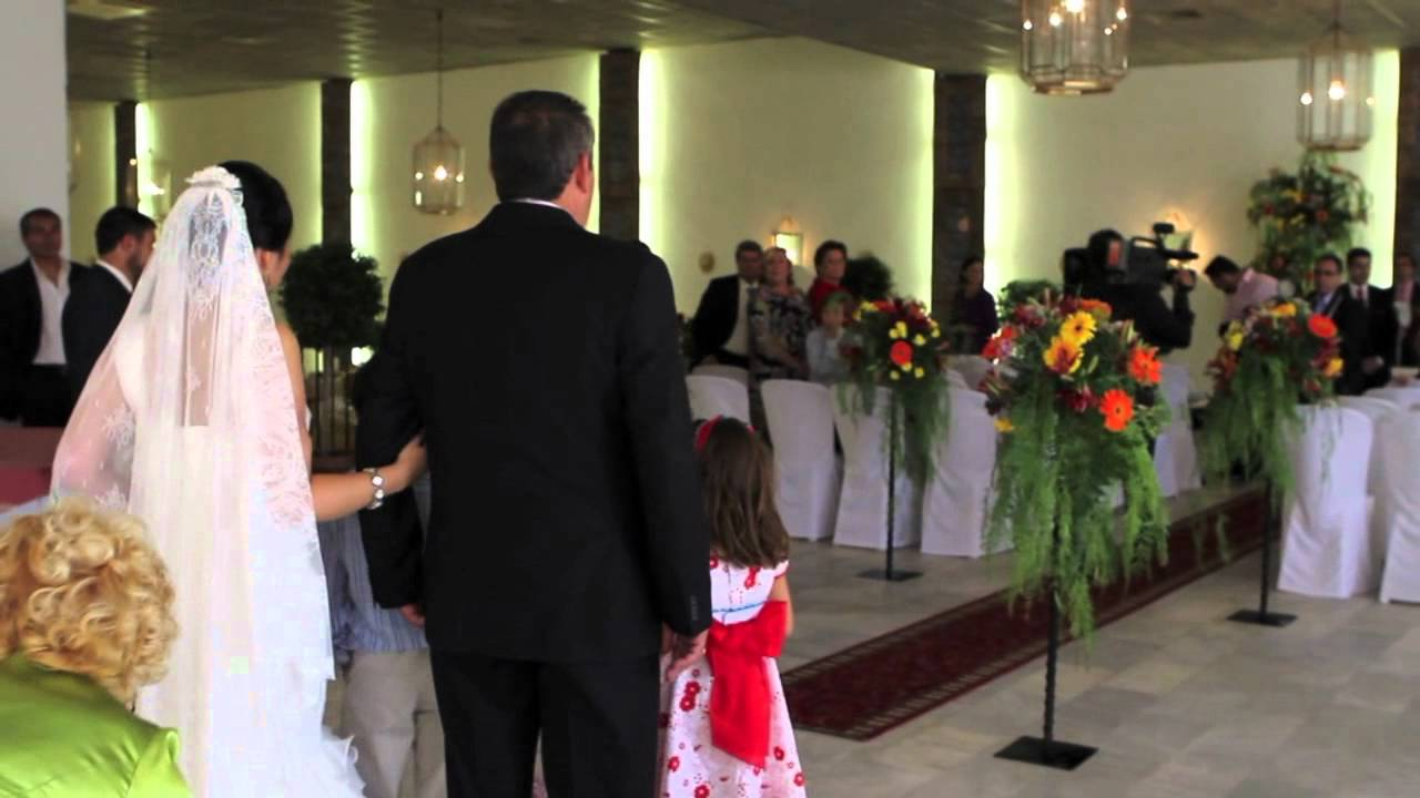 Matrimonio Catolico Vs Civil : Boda civil en los salones jose olivares s l mov youtube