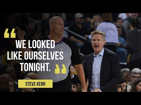 "Golden State Warriors coach Steve Kerr calls Jordan Bell ""story of the game"""