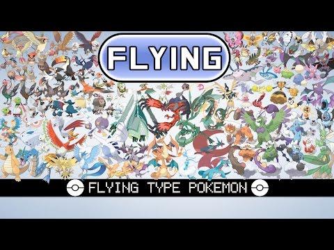 All Flying Type Pokémon
