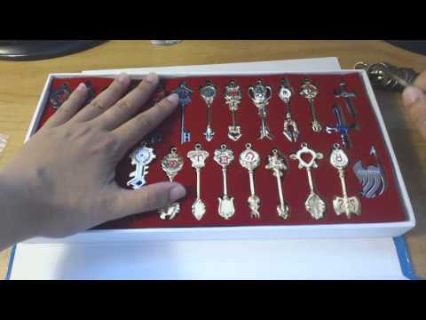 AniVlog | Fairy Tail Key Set Unboxing