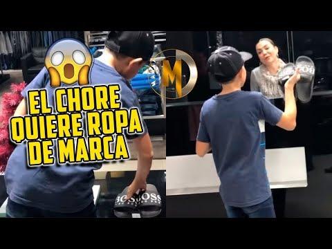 COMPRÁNDOLE ROPA DE MARCA AL CHORE SALADO