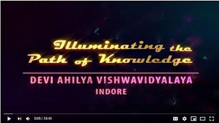 DAVV Indore Presentation 2019, Devi Ahilya Vishwavidyalaya Indore
