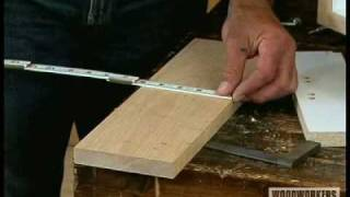Woodworking Tips & Techniques - Finding Center