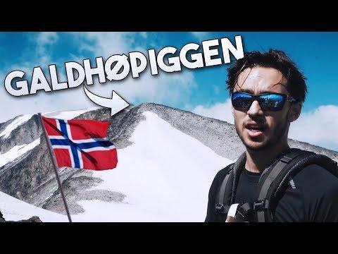 VI BESTIGER NORDENS HÖGSTA BERG