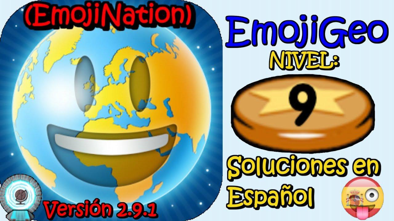Emojigeo Desde Emojination Soluciones Nivel 9 Español Youtube