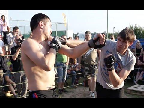 Смотреть Жесткий бой на руках !!!! - Уличный Бокс без правил онлайн