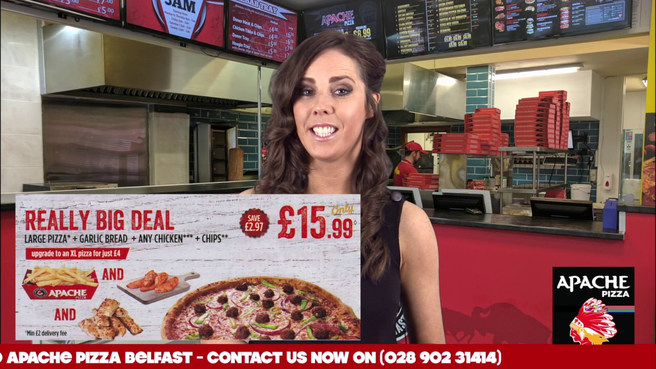 Apache Pizza Belfast Meal Deals Youtube