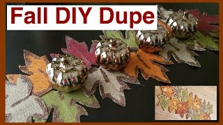 Fall DIY Dupe Challenge Hosted By Kenya's Decor Corner and Eclectic Kristen