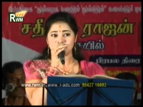 Airtel Super singer_dhanyasri_nane nana song_rajavin ragangal Right win medias salem