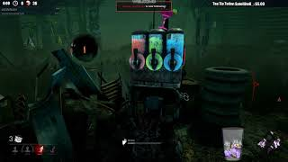 Dead by Daylight RANK 1 SURVIVOR! - HAVING TO CARRY THIS ONE!