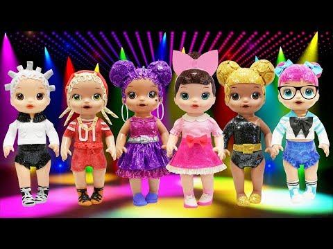 Play Doh L.O. L Surprise Doll Glitter Series Queen Bee Fancy Purple Queen Teacher's Pet