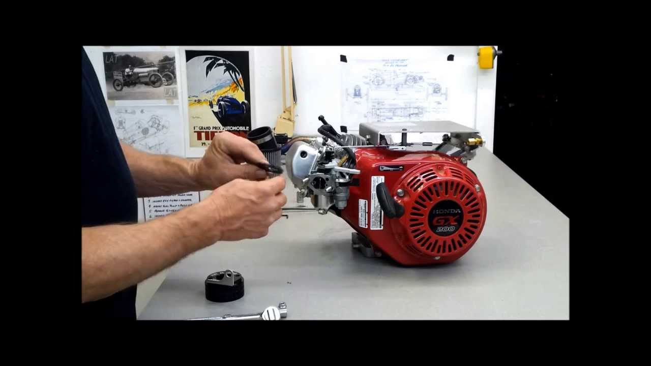 The Cyclekart Workshop GX200 performance upgrades part 5 of 5 - YouTube