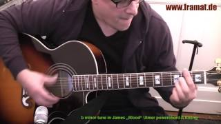 b minor tune acoustic version james blood ulmer tuning in a