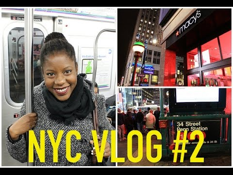 NYC Vlog #2: Macy's, 34th Street & Bryant Park