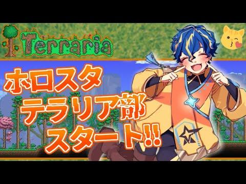 【Terraria】ホロスタテラリア部スタート!!仲間は裏切らないの誓い【アステル/ホロスターズ】