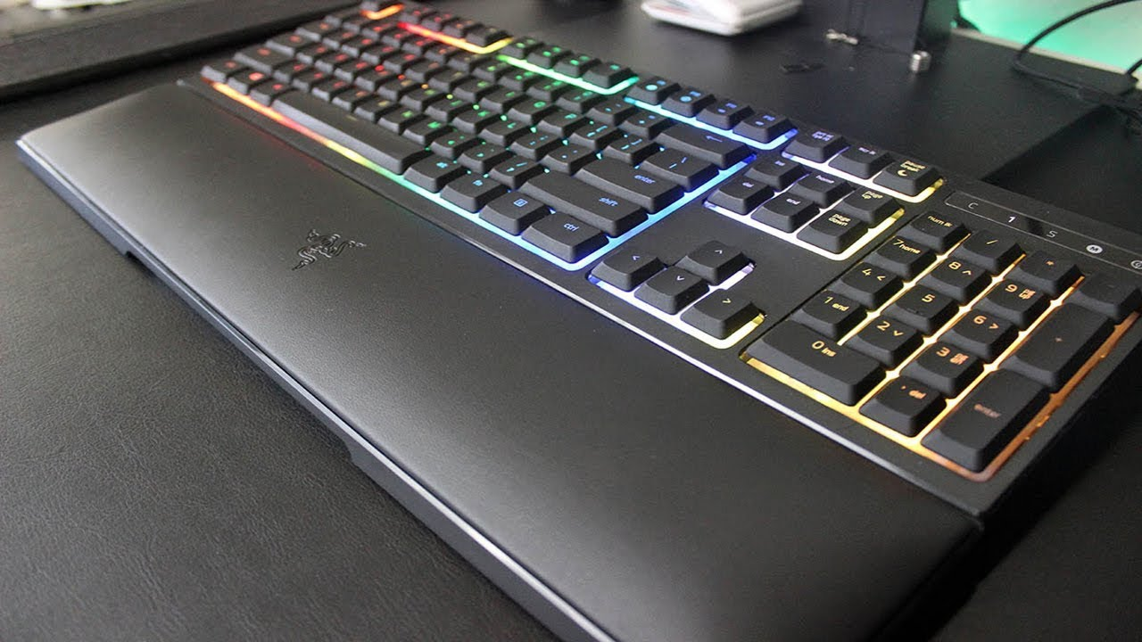 Ubrugte Razer Ornata Chroma Gaming Keyboard Review - YouTube IC-58