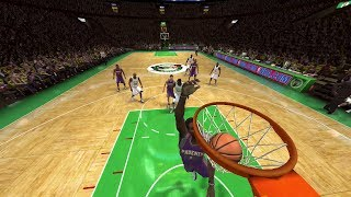 NBA Live 08 PS3 Phoenix Suns vs Boston Celtics