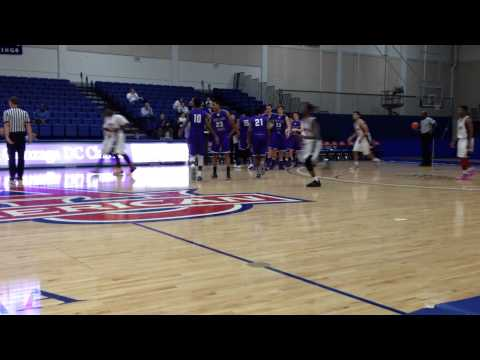 McNeil three-pointer Cesar Chavez/Mount St. Joseph basketball Gonzaga Classic finals 12/15/13