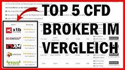 📌Top 5 CFD Broker im Vergleich 2019 📝Test & Erfahrungen für Trader