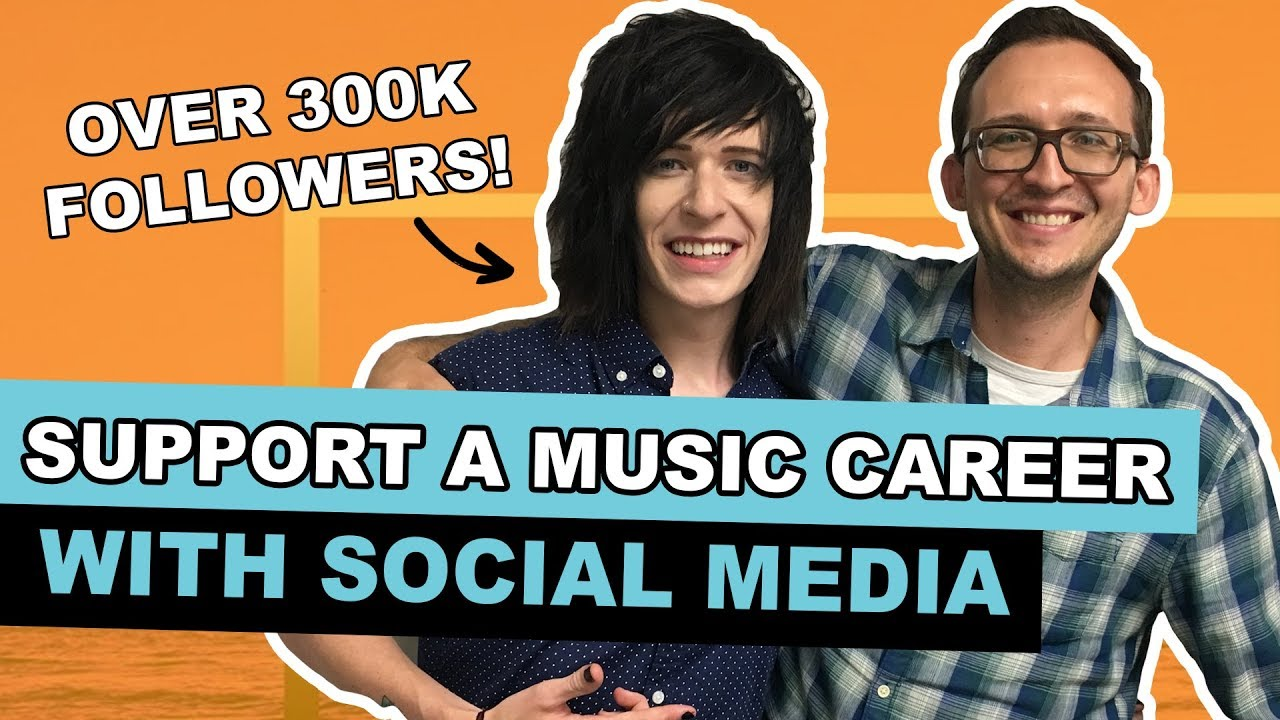 How to Support a Music Career with Social Media