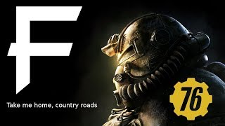 Take Me Home, Country Roads on 18 Instruments (Fallout 76 Trailer) || MetalFortress