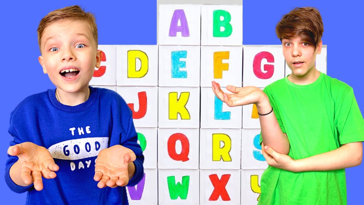 Learn the ABC with Andi like   English Letters for Kids
